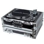 Accu-Case ACF-SA/PROTEK TT PRO Heavy Duty Hard Flight Case for DJ Deck Turntable
